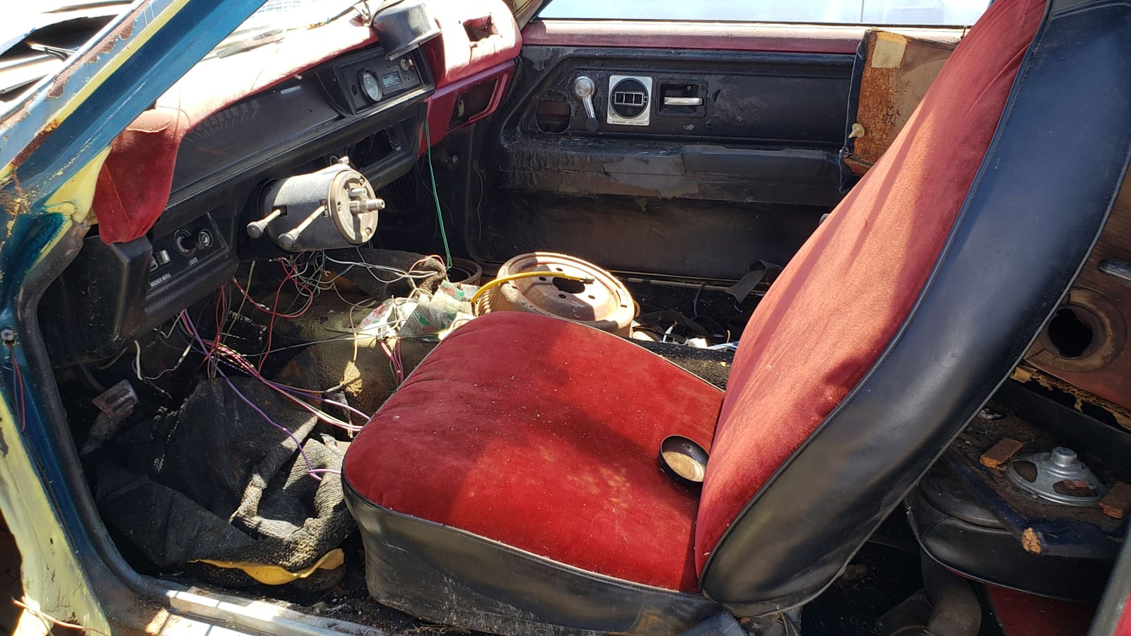 Junkyard Gem: 1973 Chevrolet Vega with V8 Swap