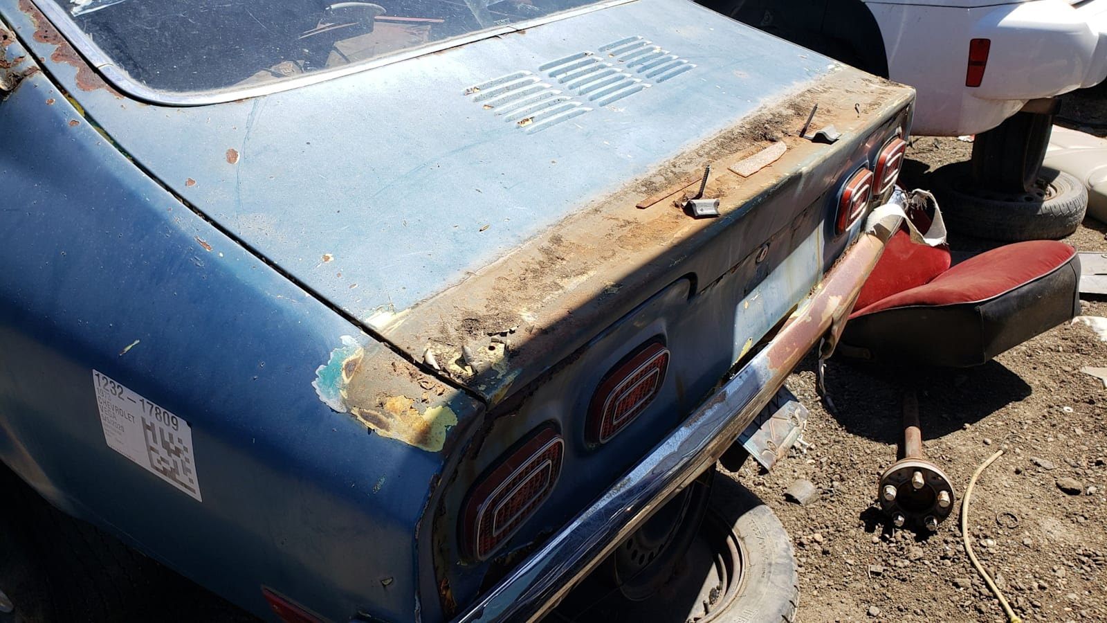 Junkyard Gem: 1973 Chevrolet Vega with V8 Swap