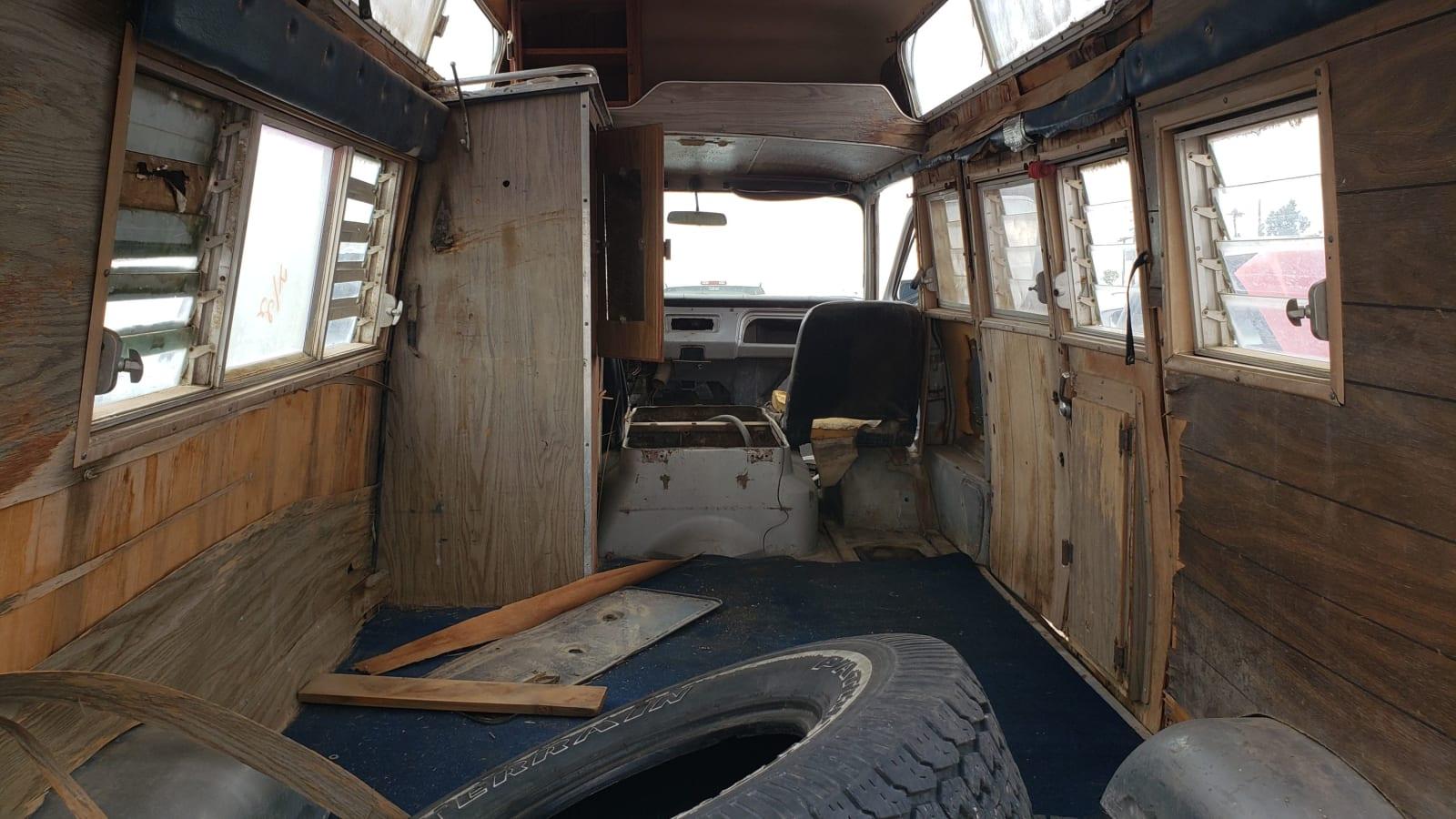 Junkyard Gem: 1969 Chevrolet ChevyVan 108 Camper