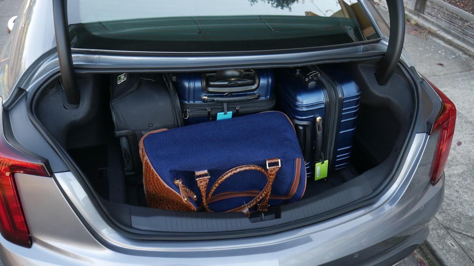 2020 Cadillac CT5 Luggage Test full1