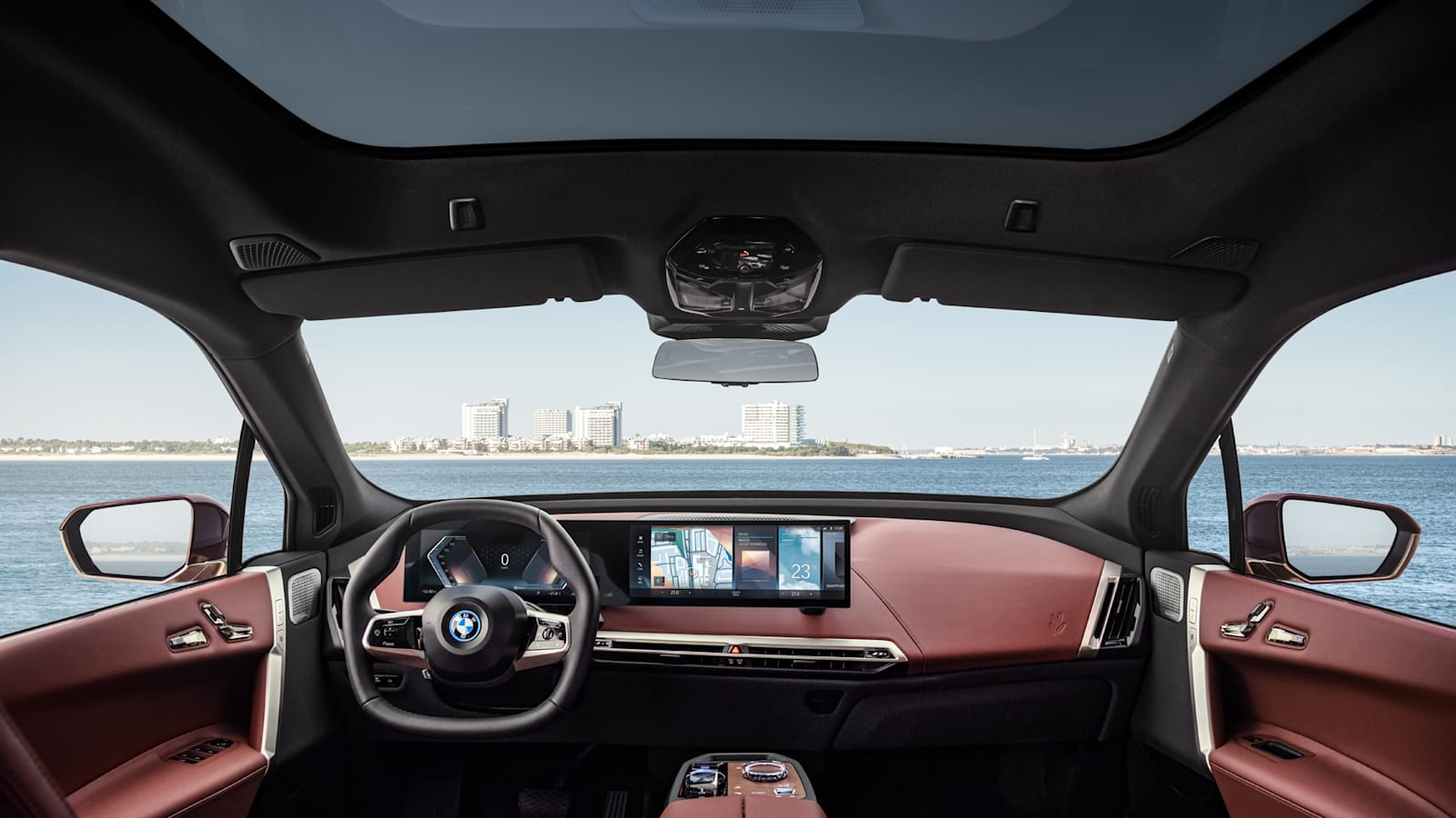 Bmw Ix Interior Wows With Its Design And Materials Choices Autoblog