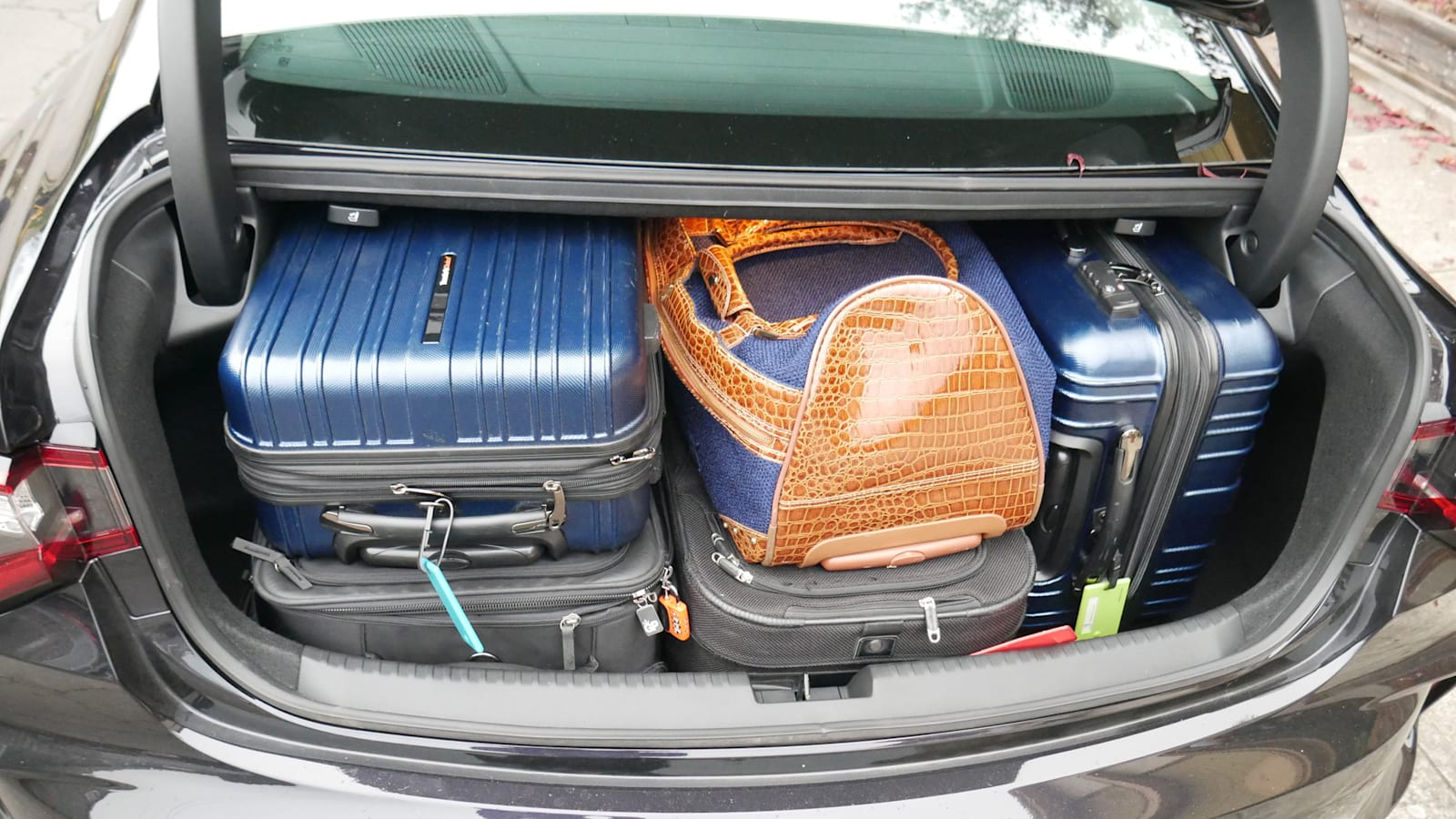 2021 Acura TLX luggage test all bags