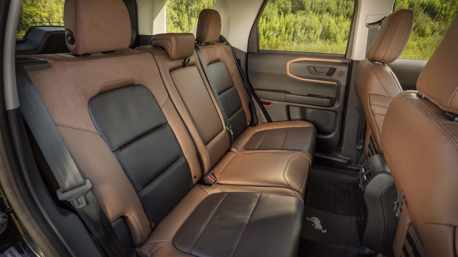 Bronco Sport interior 131