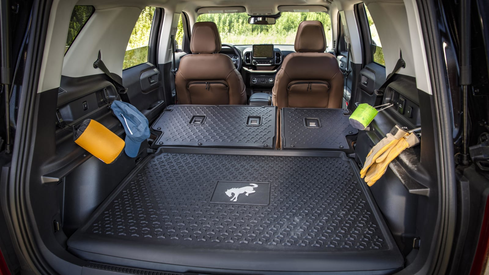 Bronco Sport interior 121