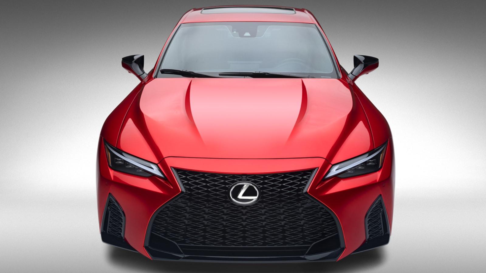 2022 Lexus IS 500 F Sport Erste Fahrt€