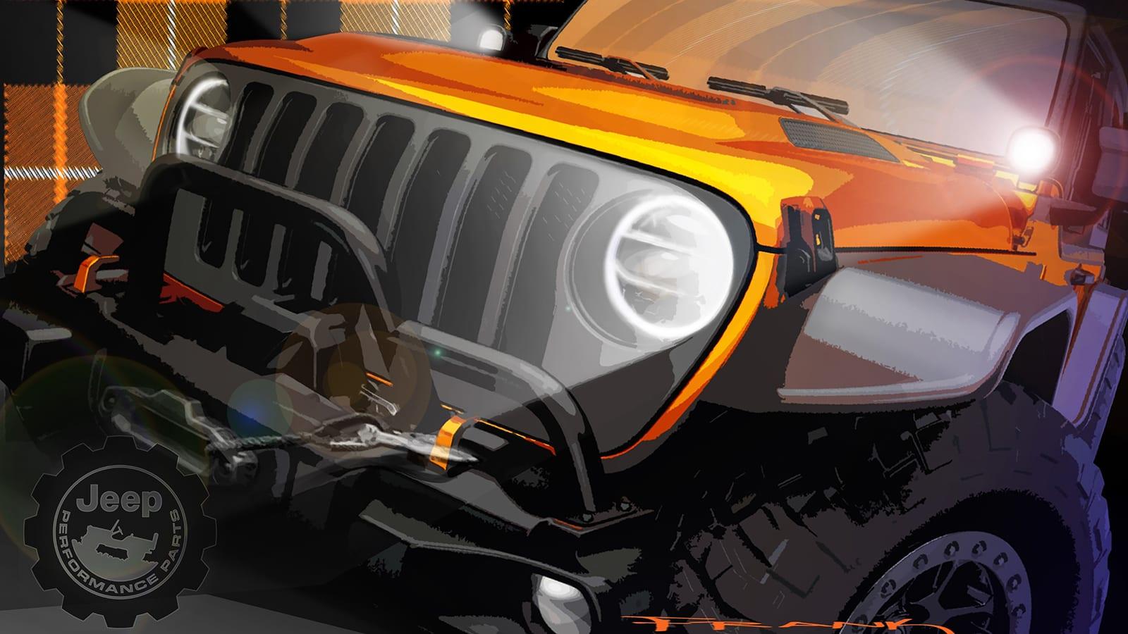 Easter Jeep Safari concept rendering