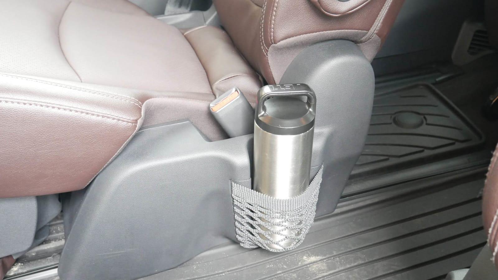 2021 Toyota Sienna interior storage seat cupholder net