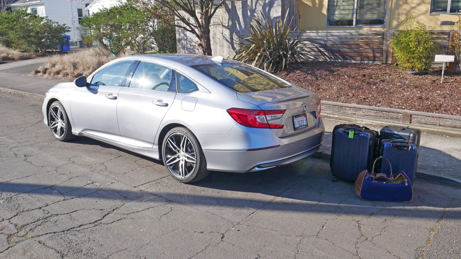 2021 Honda Accord Hybrid luggage test1
