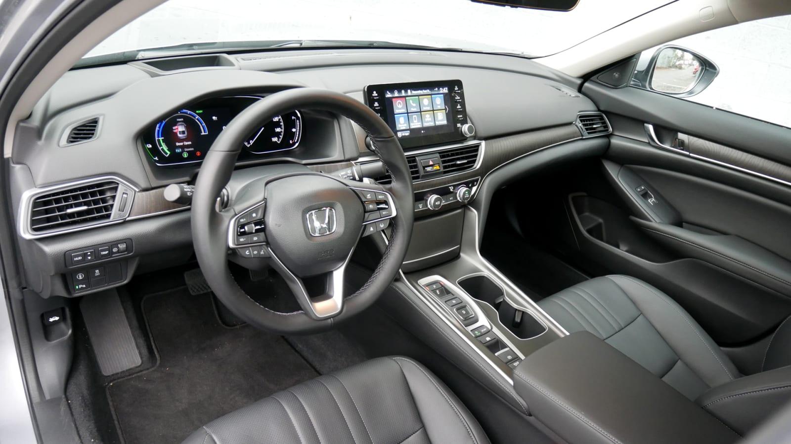 2021 Honda Accord Hybrid Interior from driver