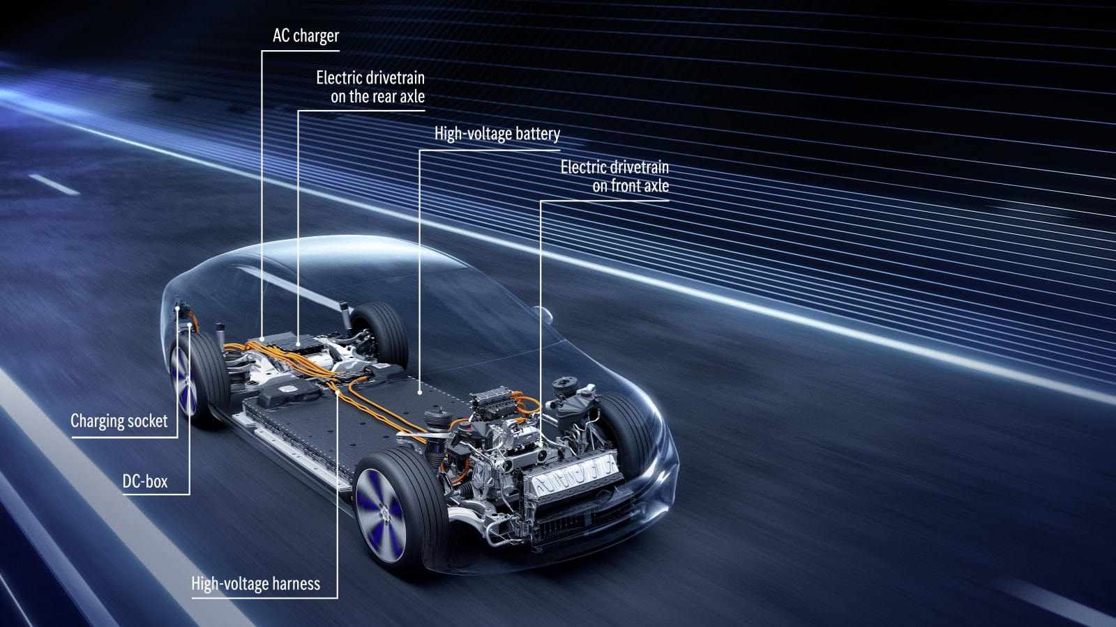 Mercedes-Benz EQS reveals its powertrain and battery secrets in detail