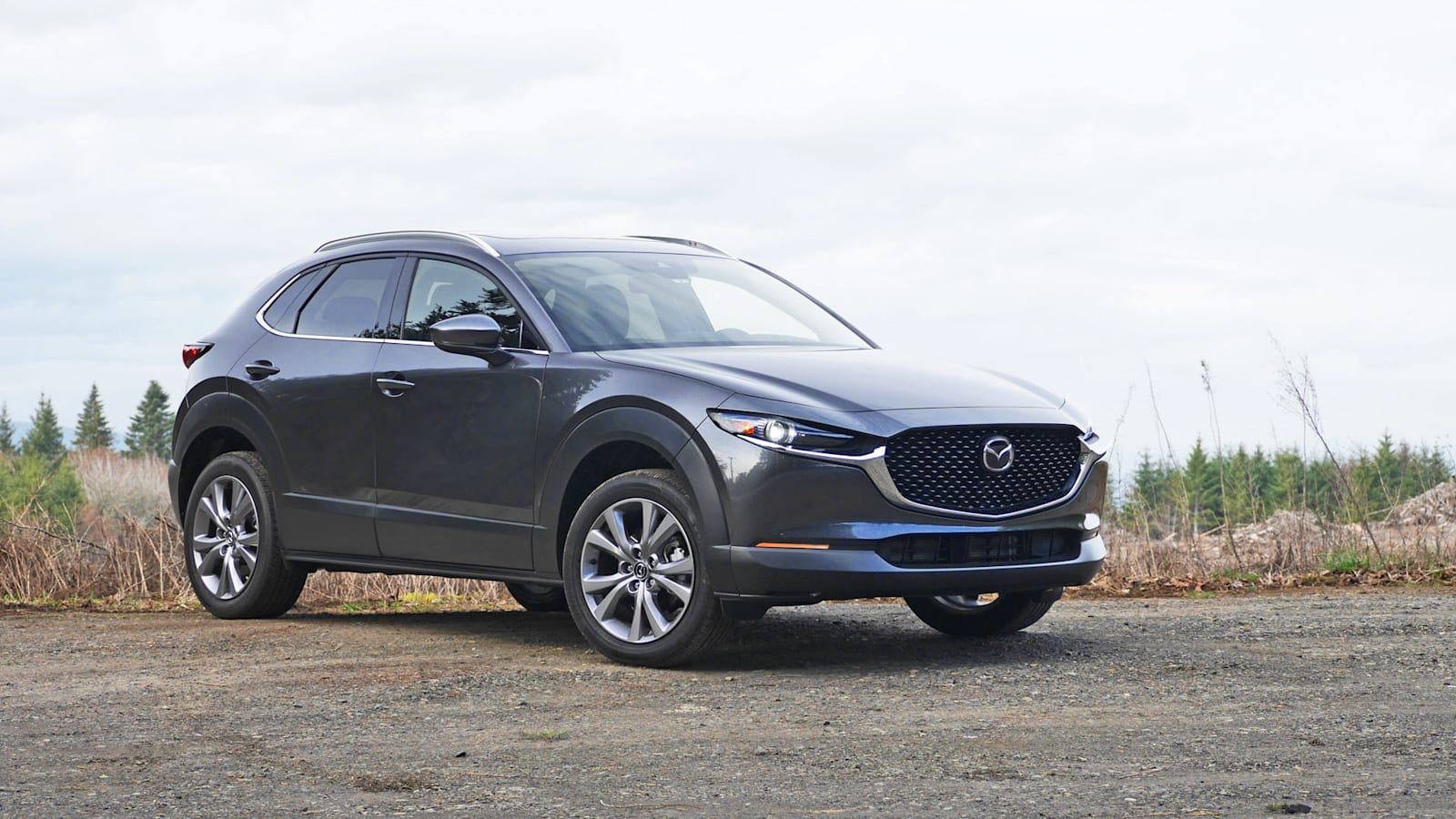 2021 Mazda CX-30 Grand Touring in gray