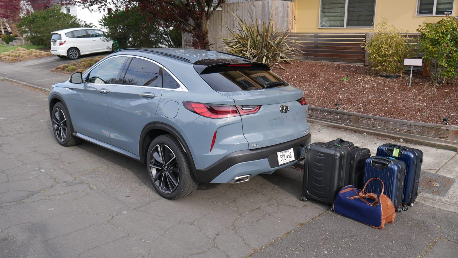 2021 Infiniti QX55 Luggage Test