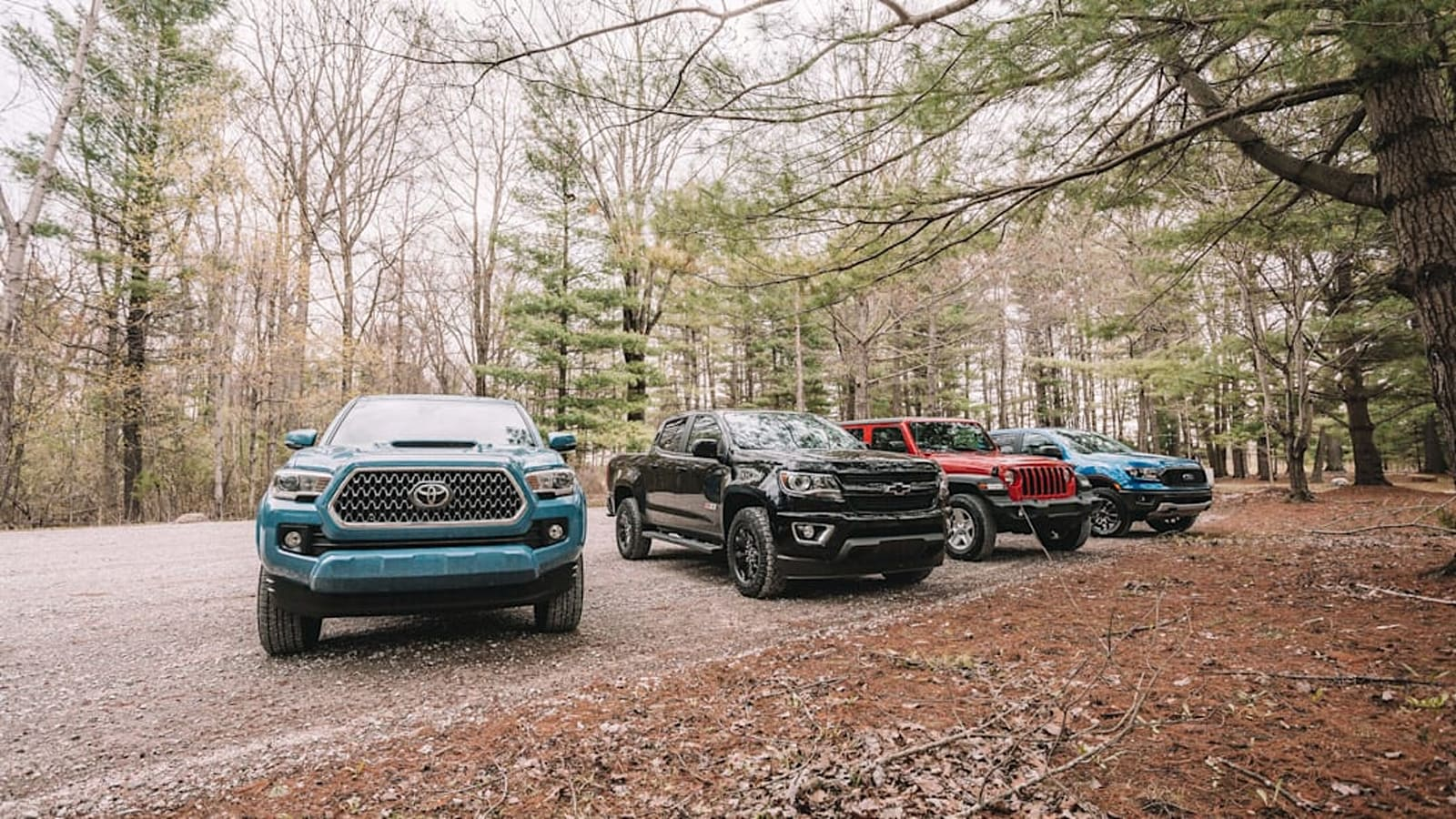 autoblog midsize truck test 1