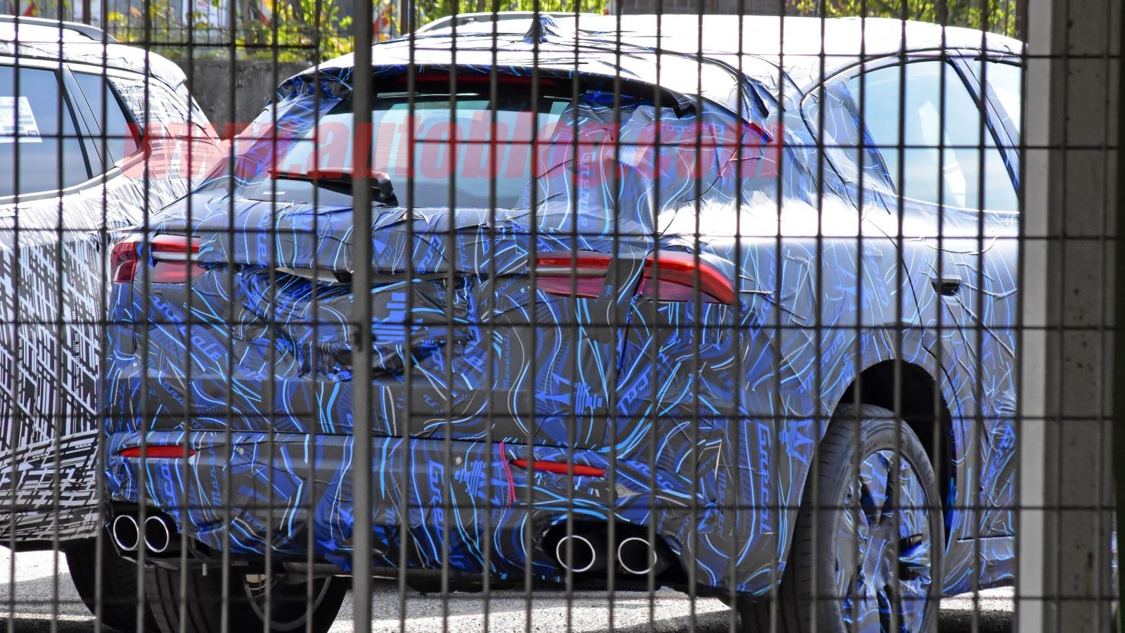 2022 Maserati Grecale spied