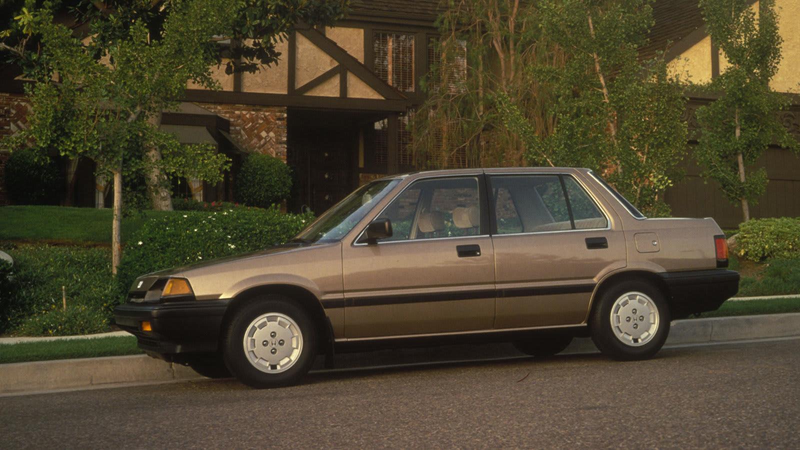 1985 Honda Civic1