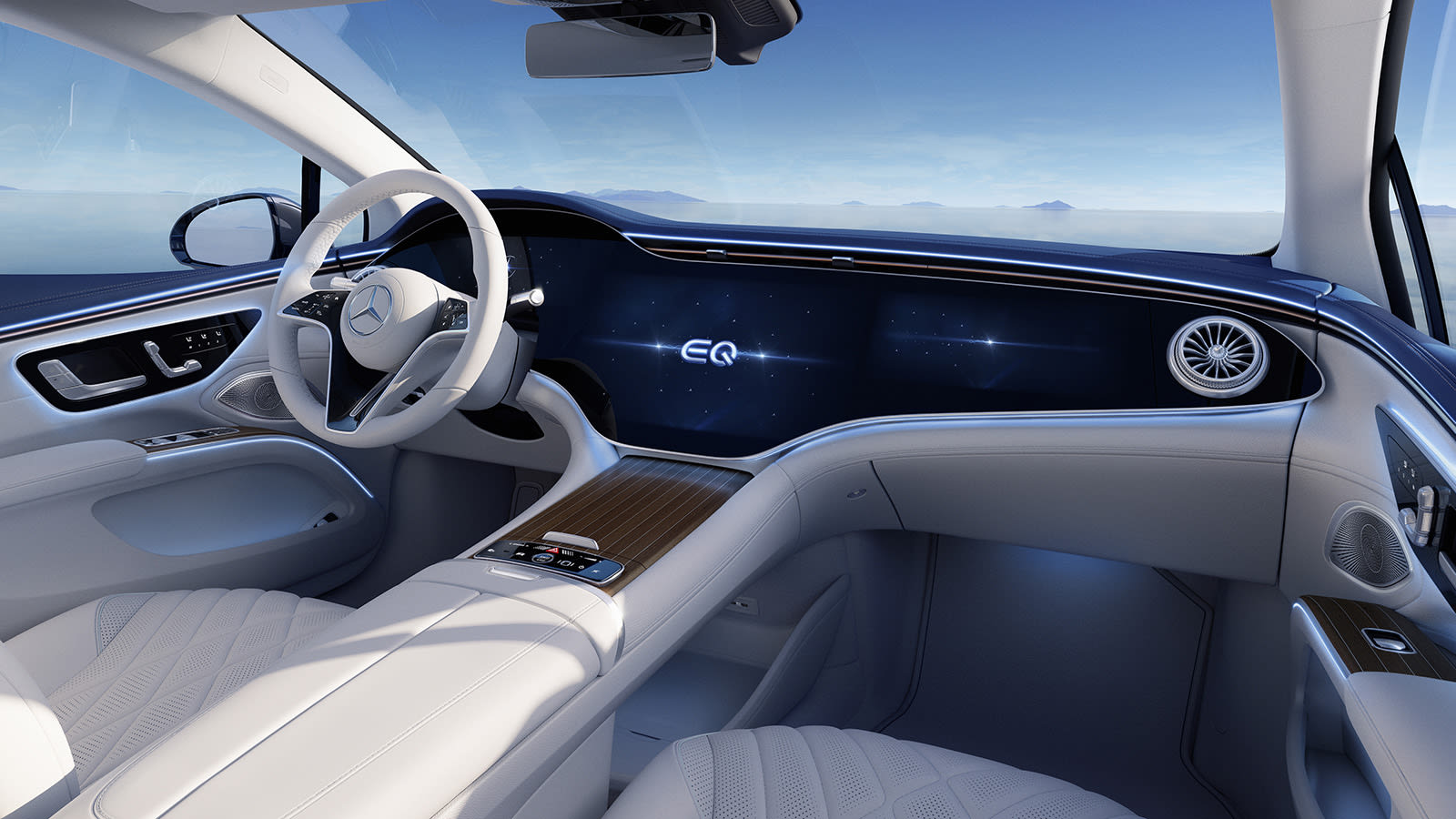 Mercedes-Benz EQS dashboard