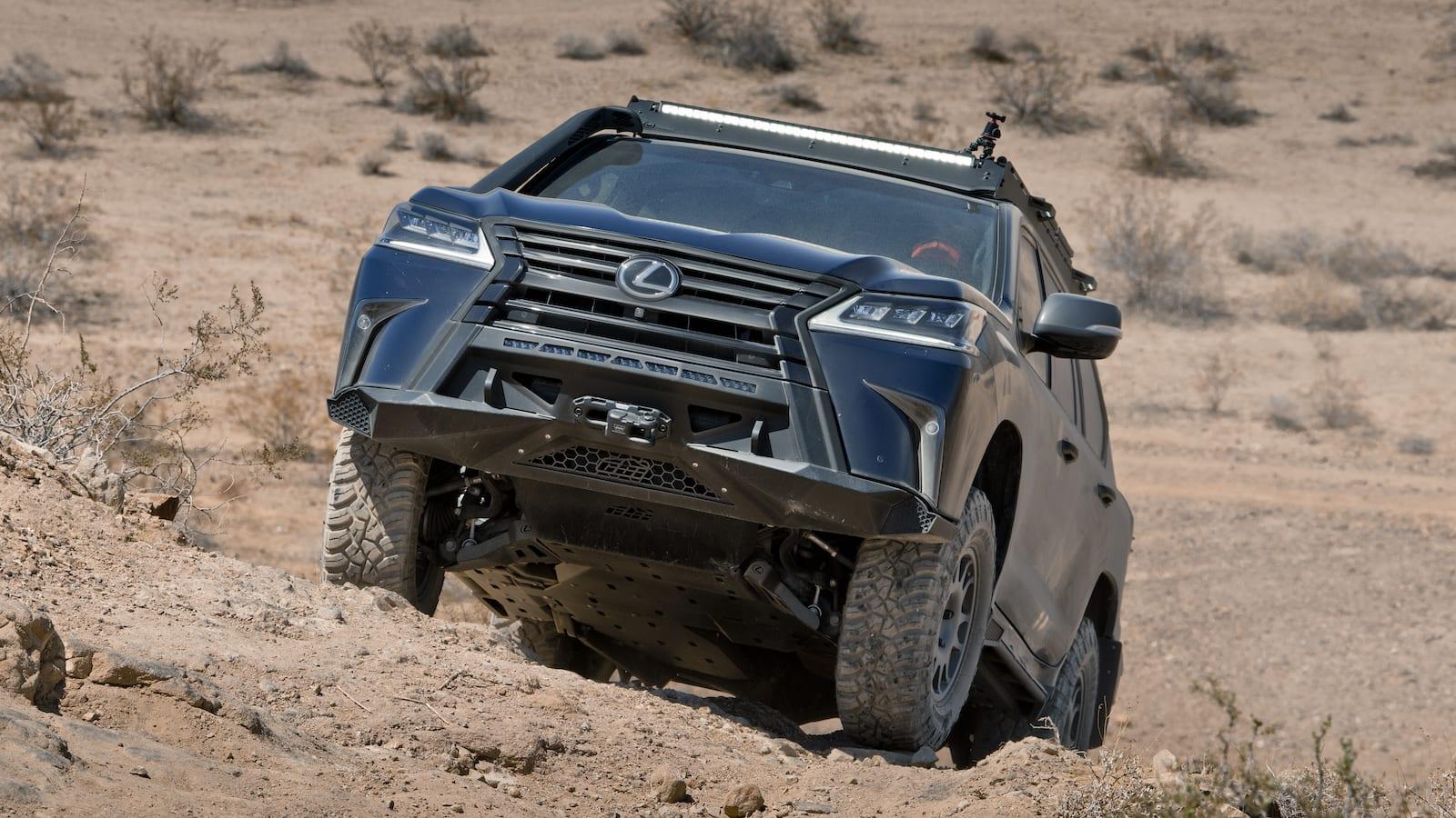 Término Lexus J201   Adelantar en terrenos de marca inexplorados