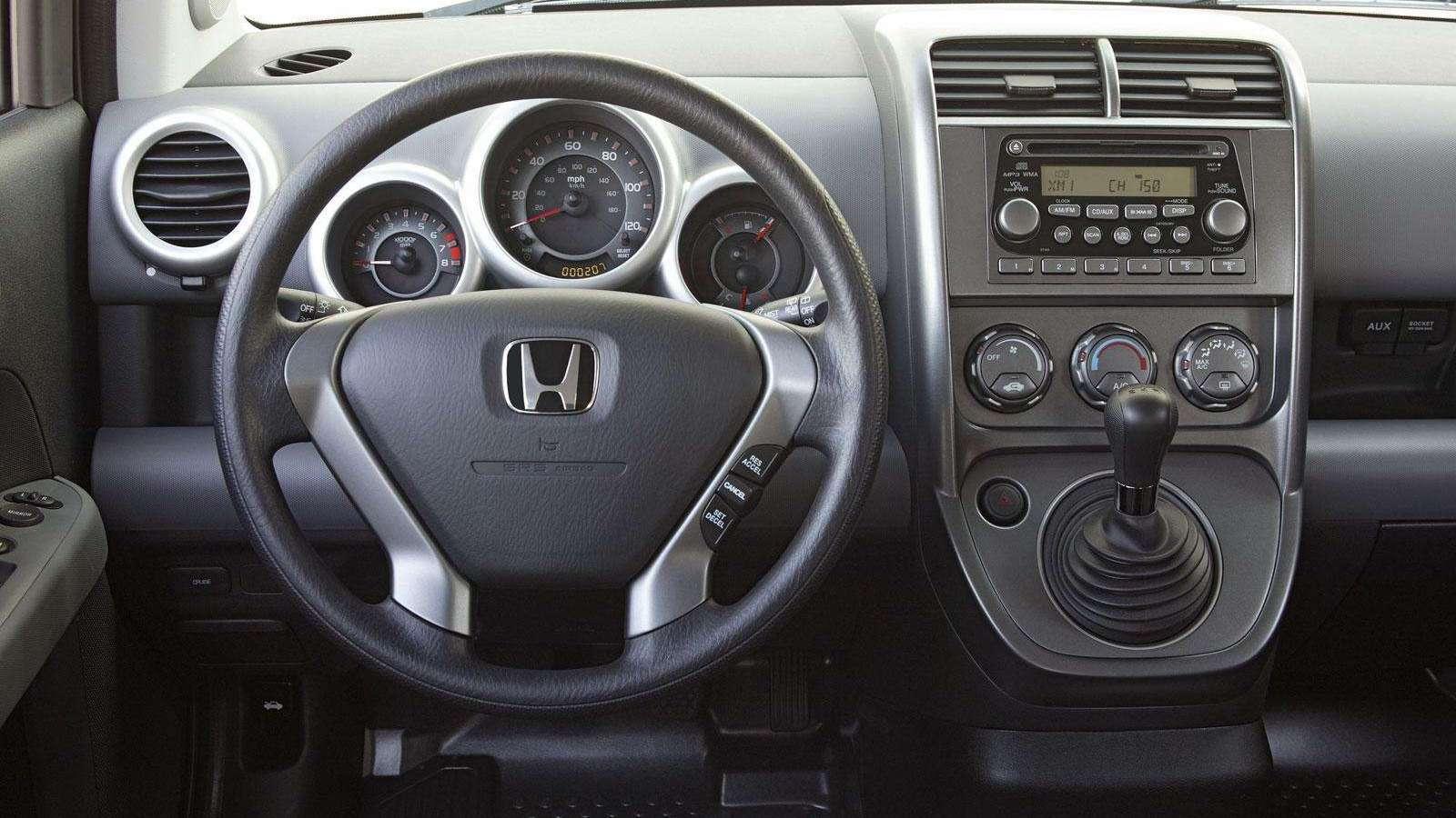 Honda Element interior 031