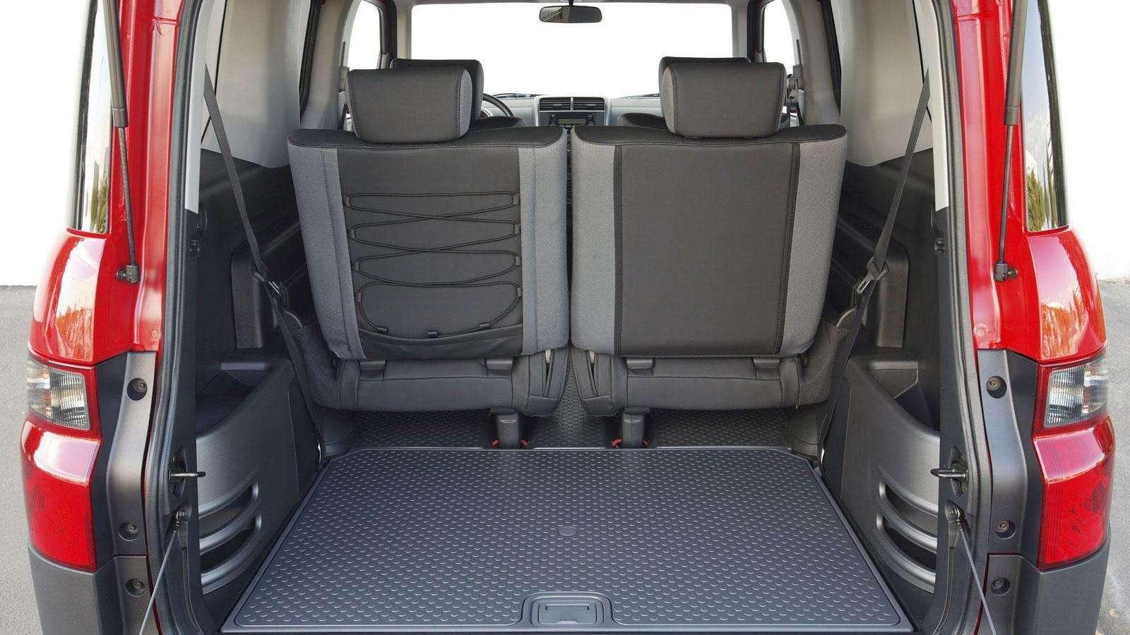 Honda Element interior 051