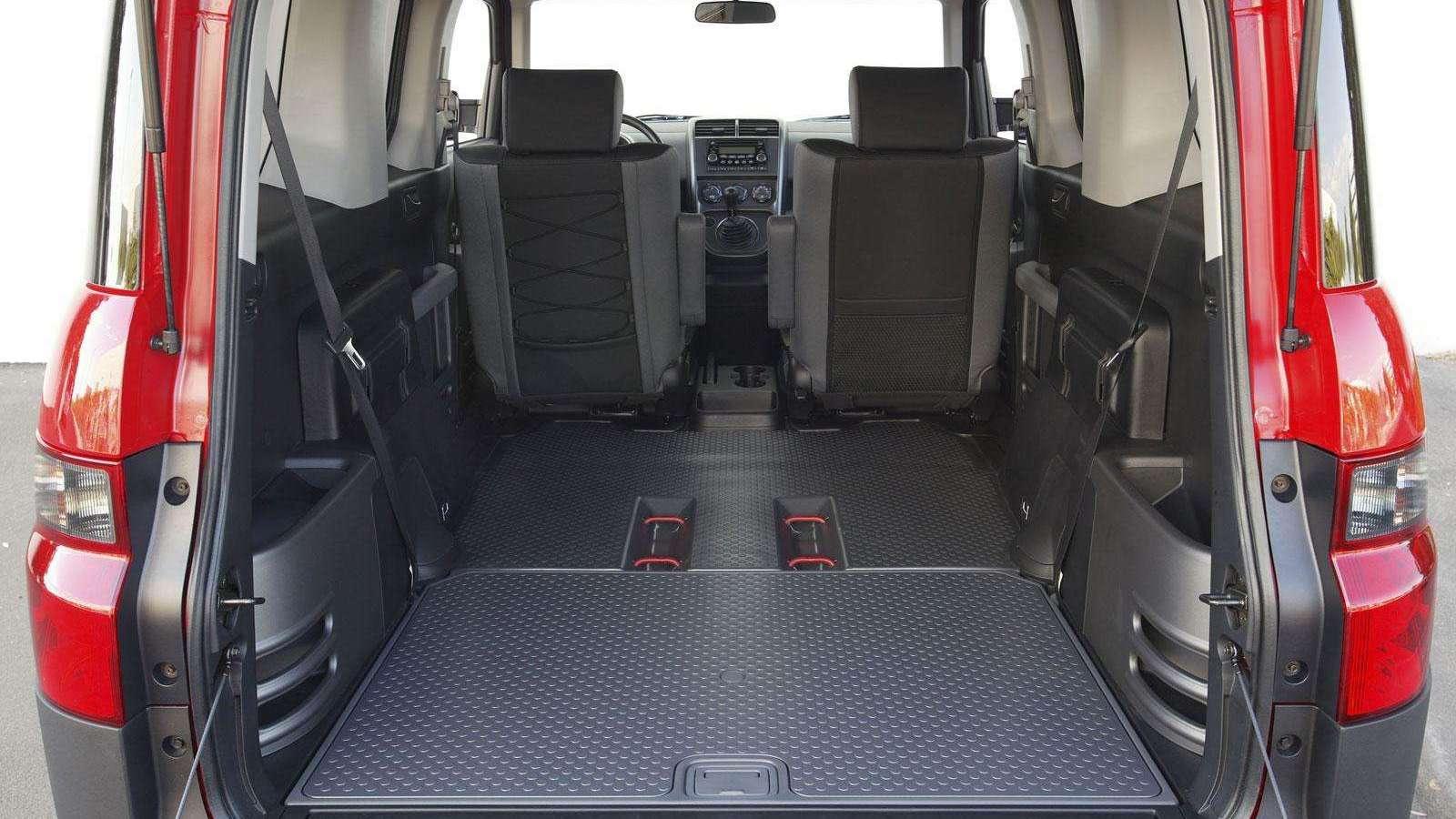 Honda Element interior 061