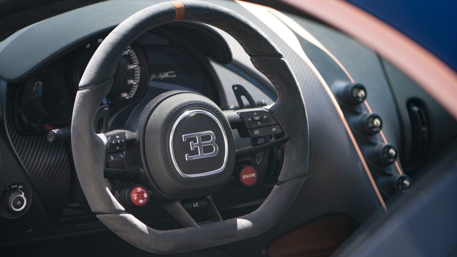 Bugatti Chiron Pur Sport 161