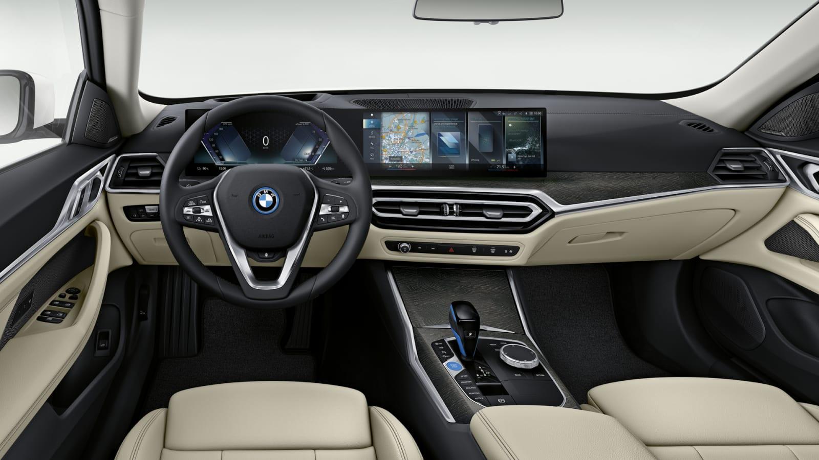 2022 BMW i4 M50 interior