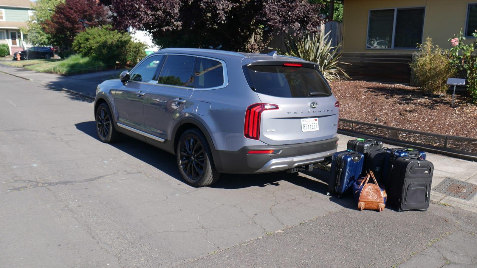 2021 Kia Telluride Luggage Test