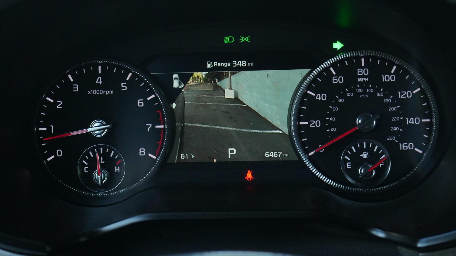 2021 Kia Telluride IP right turn