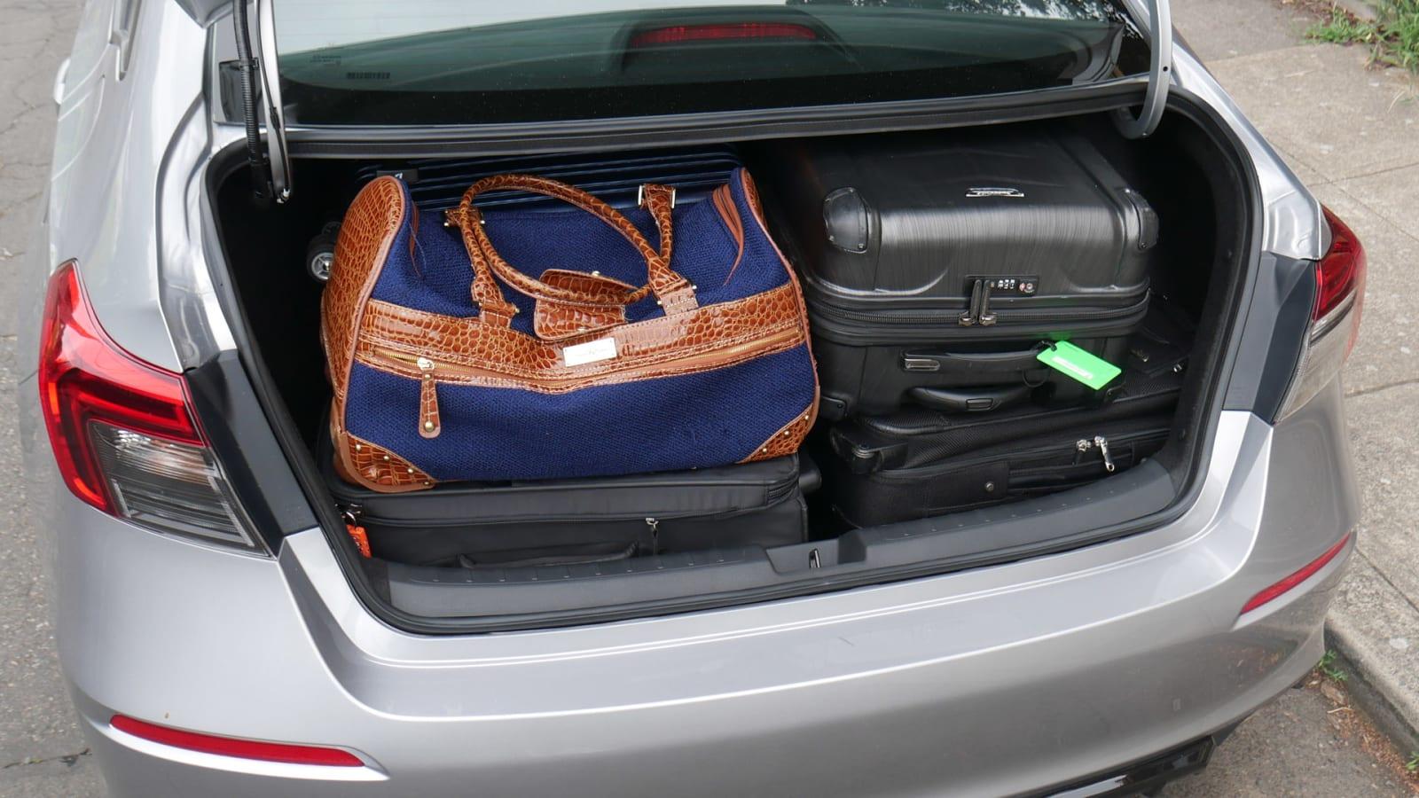 2022 Honda Civic Luggage Test all bags