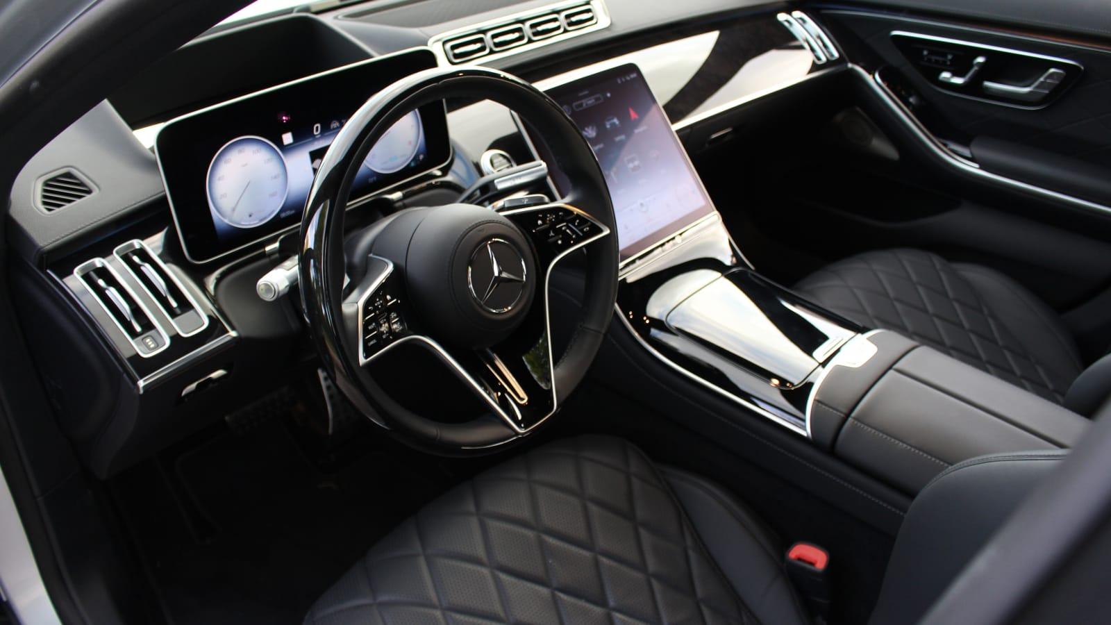 2021 Mercedes-Benz S-Klasse Innenraum Übersicht
