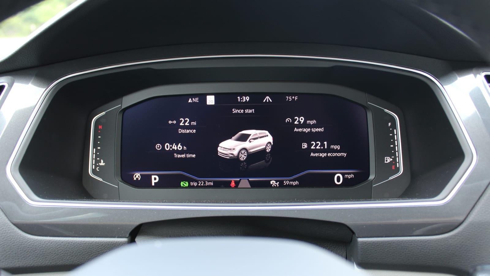 2022 Volkswagen Tiguan Erste Fahrt Bewertung€