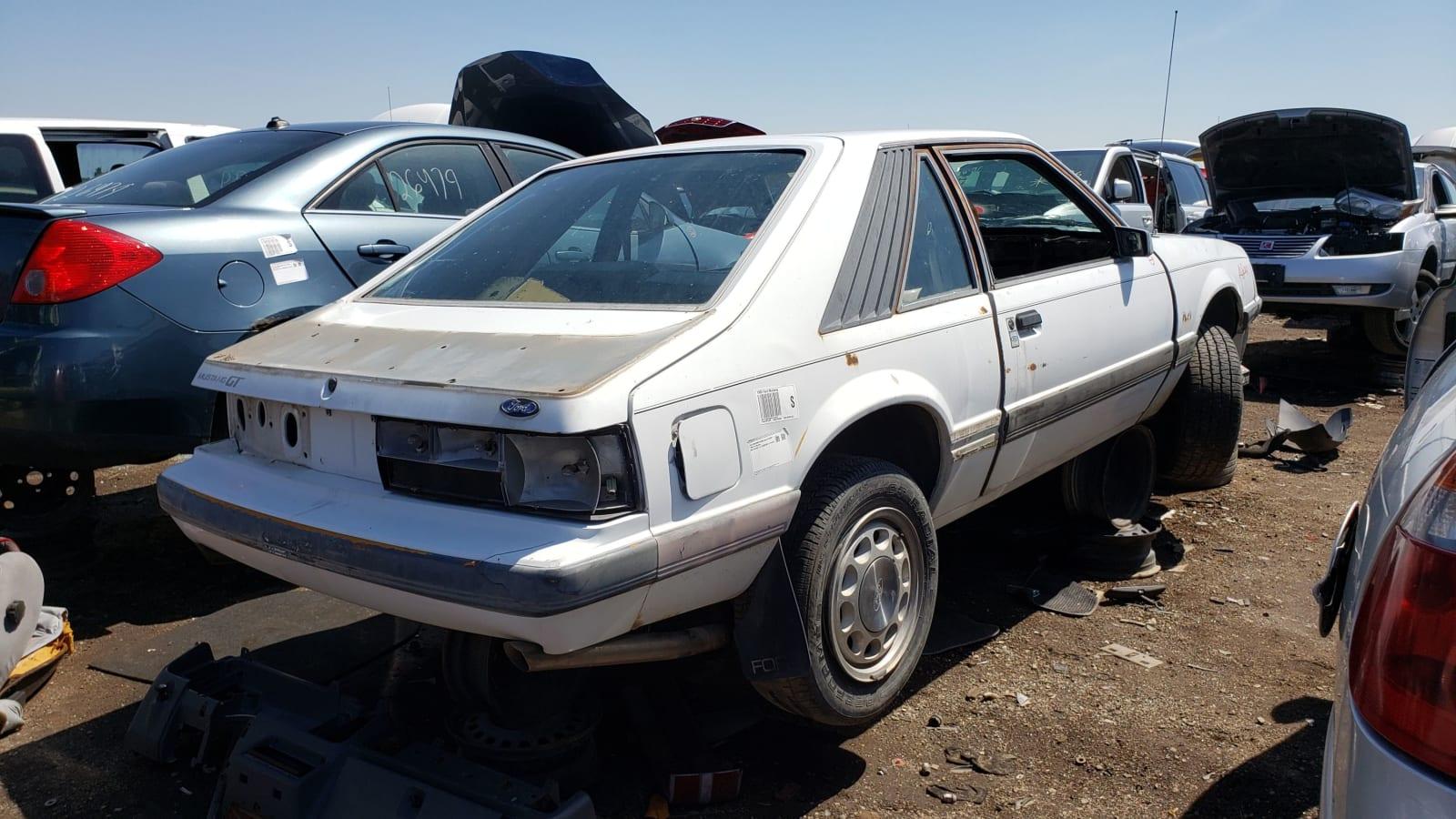 Schrottplatzjuwel: 1985 Ford Mustang GT€