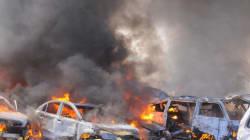 Attentato a Damasco, cinque autobombe fa decine di vittime (FOTO