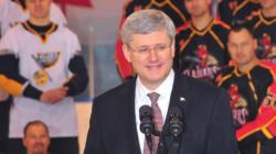 Harper Keeps Hockey