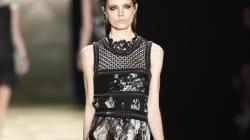 Cavalli alla Fashion Week di Milano, la seduttrice è tutta