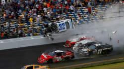 États-Unis : accident spectaculaire pendant une course, 28