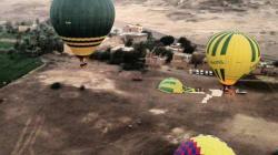 19 touristes tués dans l'explosion d'une montgolfière à