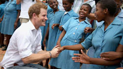His Royal Cuteness: Prince Harry Visits Children's Charity In