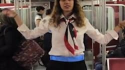 WATCH: Subway 'Flight