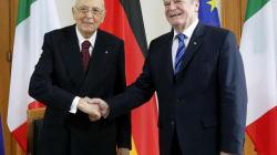 Napolitano in Germania: