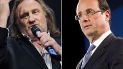 Hollande et Depardieu se vannent par Russie