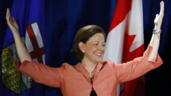Alberta Premier Likes Slick Talk By