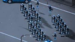 Manifestante o poliziotto? Lo scontro in piazza diventa un videogame