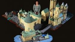 Elle construit le château de Harry Potter avec 400.000 briques de