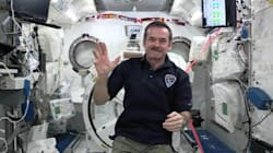 Chris Hadfield Salutes