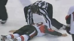 WATCH: Senators Rookie KO'd In Ugly Fight With Leafs