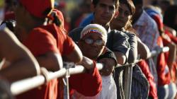 Les funérailles d'Hugo Chavez en