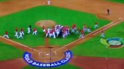 WATCH: Canada, Mexico Brawl At World Baseball