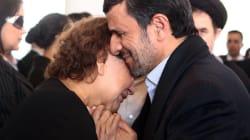 La photo d'Ahmadinejad qui met en colère les intégristes