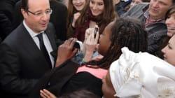 Hollande à Dijon : l'opération séduction commence